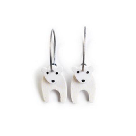 Earrings Bear 36C