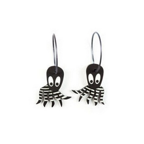 Earrings Octopus 45B