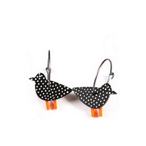 Earrings Bird 12D