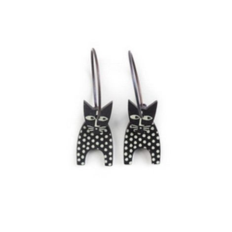 Earrings Cat 54C
