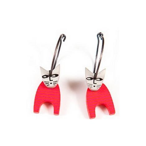 Earrings Cat 13A