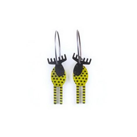 Earrings Moose 55A