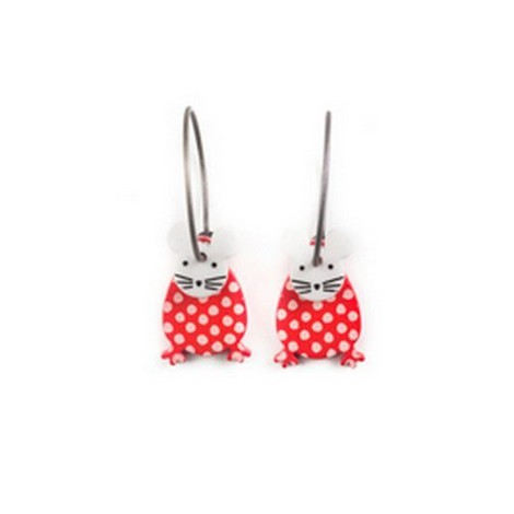 Earrings Mouse 54D