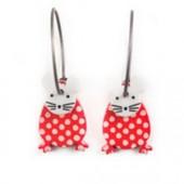 Earrings Mouse 54D