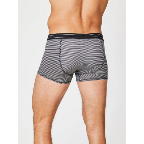 Boxers bamboo Gunn grey strip