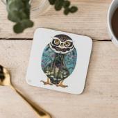 Tácky pod sklenice DM Owl Sova