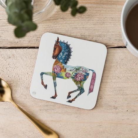 Tácek pod sklenici Horse Kůň