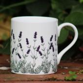 Porcelain mug Lavender