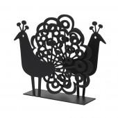 Napkin holders Peacock black