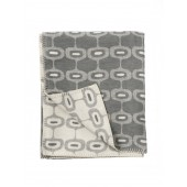 Cotton blanket Doris grey