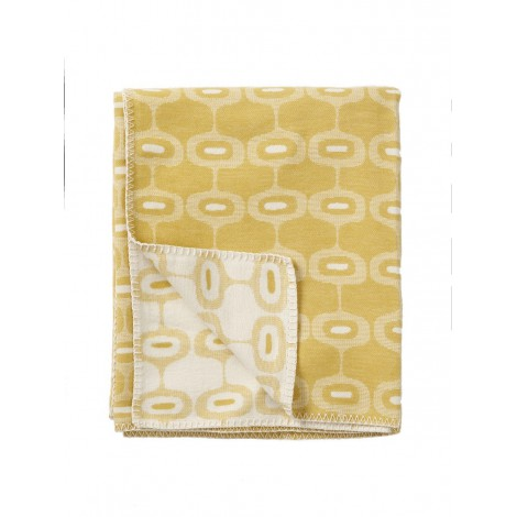 Cotton blanket Doris yellow