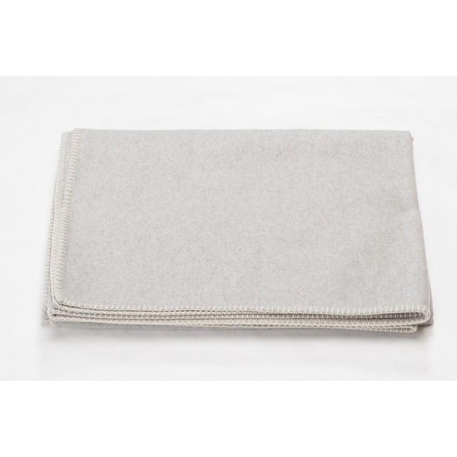 Bavlněná deka SYLT světle šedá