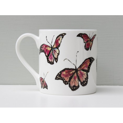 Porcelain mug  I used to be a Caterpillar