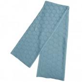 Pletená deka Hedris tyrkys 130x170