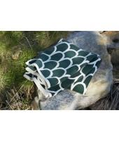 Bavlněná deka chenille Feathers