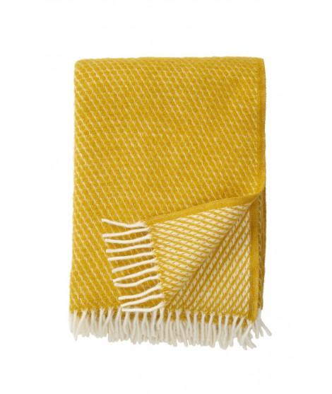 Vlněný pléd Velvet saffron