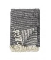 Vlněný pléd Velvet grey