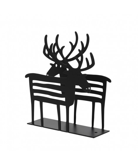 Napkin holders Reindeer black