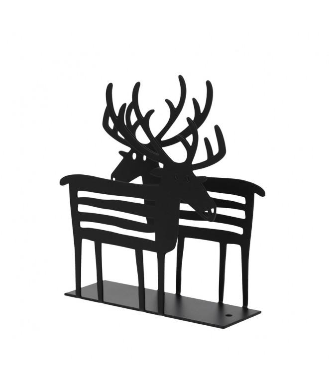 Napkin holders Reindeer black
