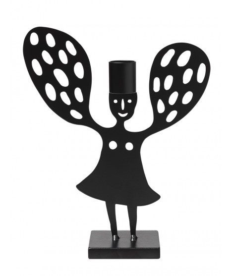 Candle holder Angel dots
