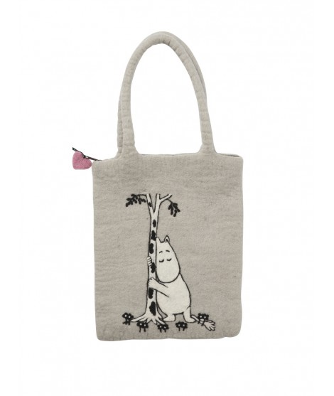 Felted bag  Moomin tree hug