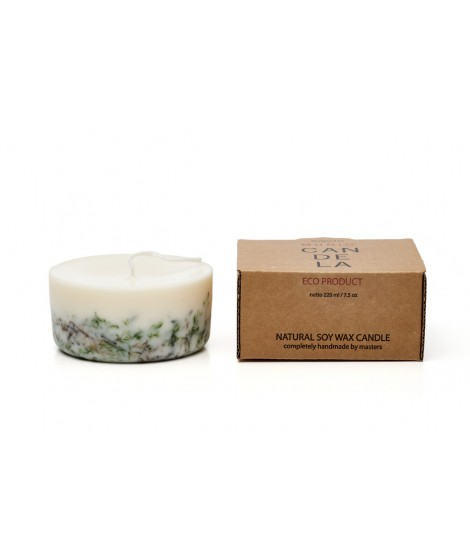 Candle Naturella Moss no-perfume 220ml