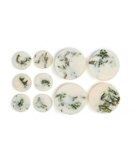 Soy wax rounds Naturella Moss 120ml