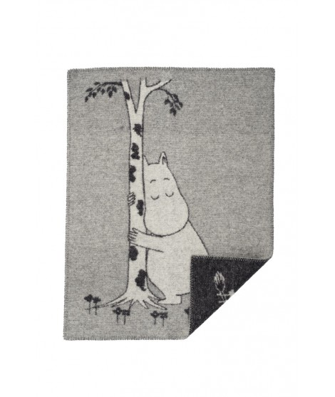 Wool Baby blanket Moomin Tree Hug