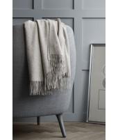 Wool throw Classic beige 1