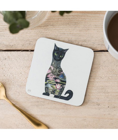 Coaster DM Black Cat