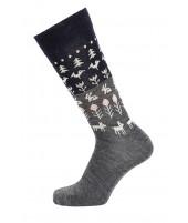 Merino ponožky Nature antracite
