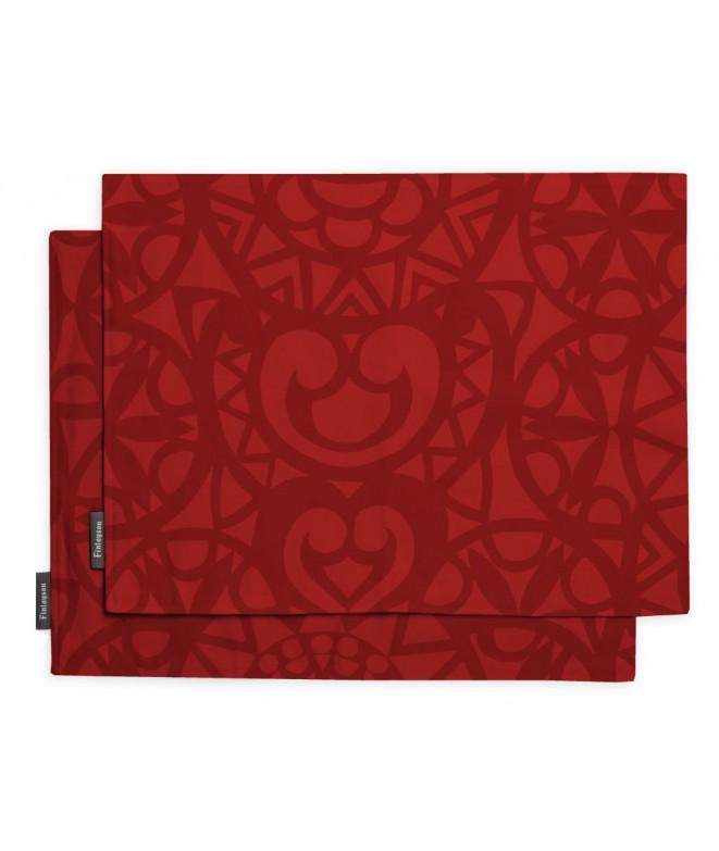 Prostírání Rosetti red