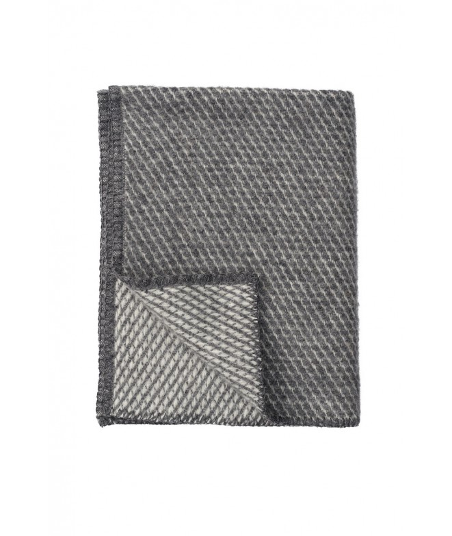 Wool Baby throw Velevet grey