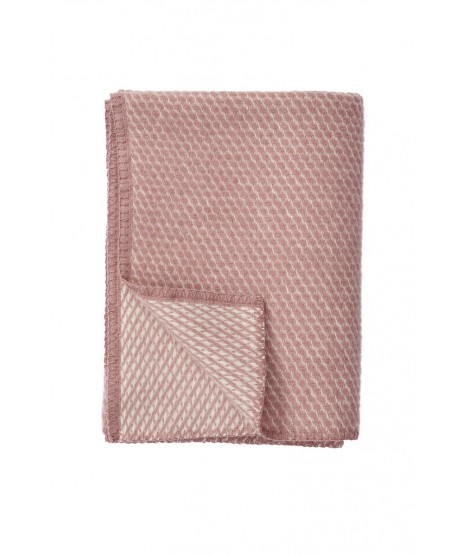 Kids woolen throw Velevet rose