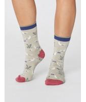 Bambusové ponožky Goosey Lucy cream