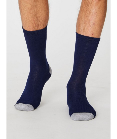 Bamboo socks Solid Jack navy