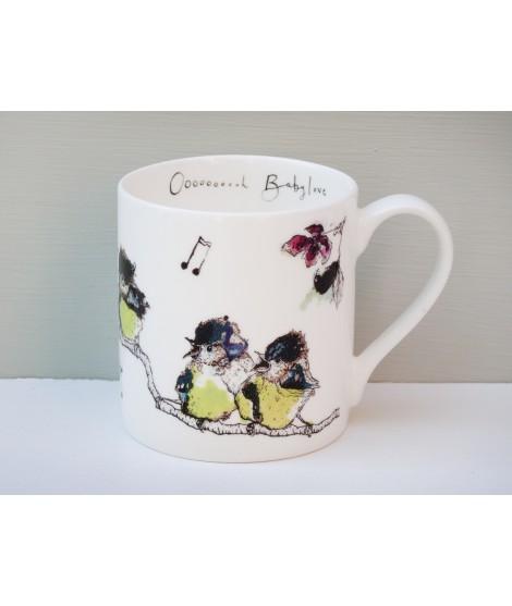 Porcelain mug Ohh babylove