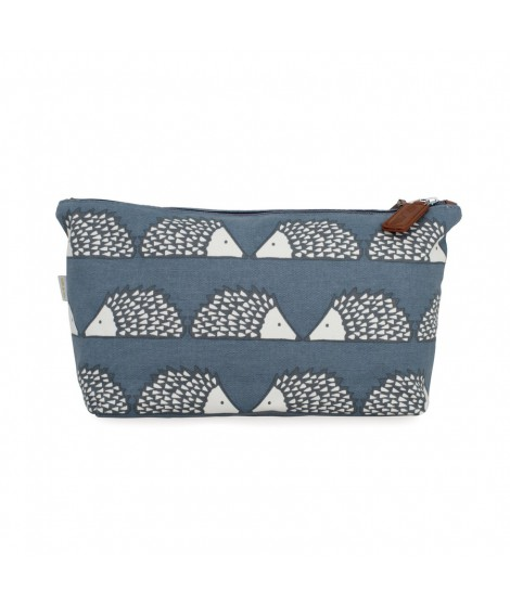 Cosmetic bag Spike Grey large