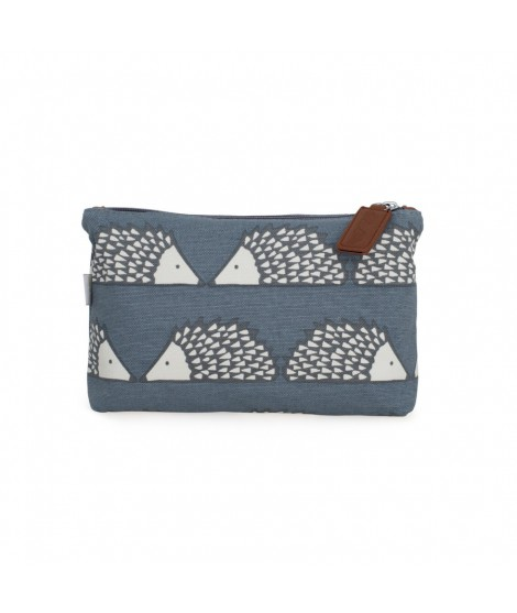 Cosmetic bag Spike Grey medium