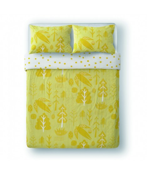 Bed linen Flying Bird yellow