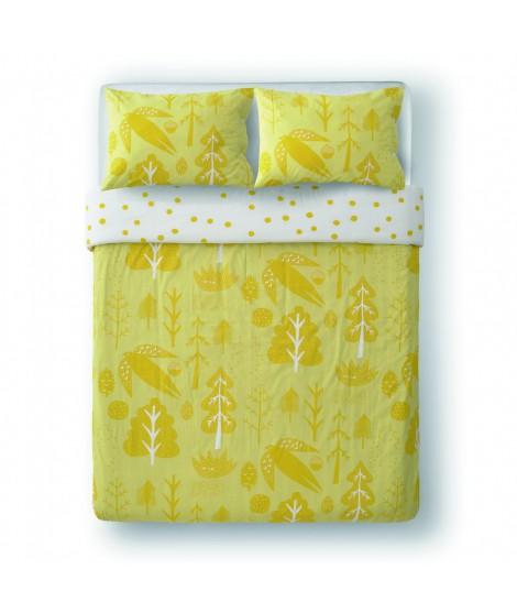 Bed linen Flying Bird yellow
