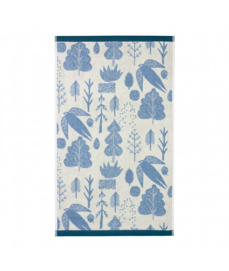 Hand towel Bird & Tree duck egg 50 x 90