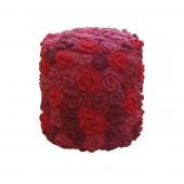 Taburet Flowers round Red Wine