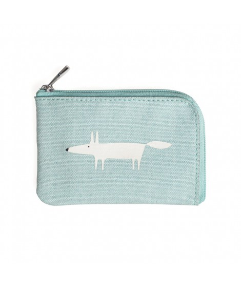 Card purse Mr Fox blue
