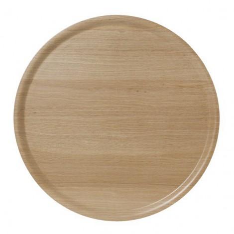 Dřevěný kulatý tác B&L Wood oak dub d45
