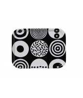 Small square tray Candy Black