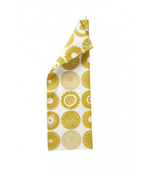 Kitchen towel Candy yellow