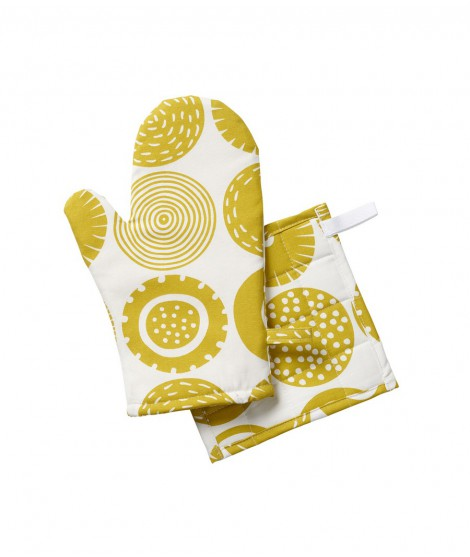 Oven glove Candy yellow