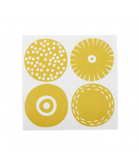 Paper napkins Candy yellow