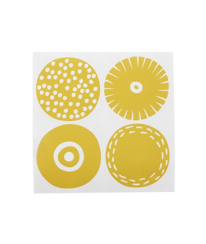 Papírové ubrousky Candy yellow